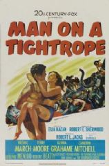 Man on a Tightrope 1953 DVD - Fredric March / Terry Moore